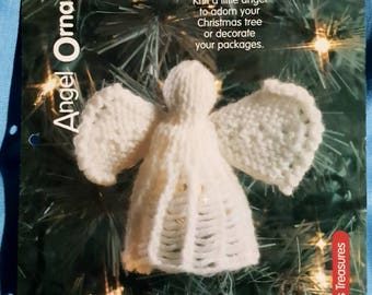 2000 House of White Birches Angel Ornament Knitting Pattern Leaflet NOT a PDF