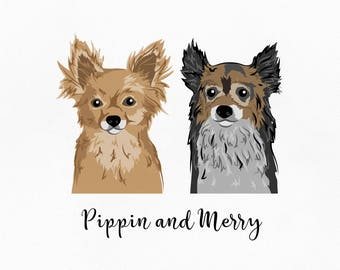 Custom pet illustration. Pet portrait custom. Dog illustration. Custom pet portrait. Pet portrait. Dog portrait. Pet art. Dog wall art.