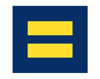 "Equality 3"" Sticker - Support Marriage Equality and Human Rights"