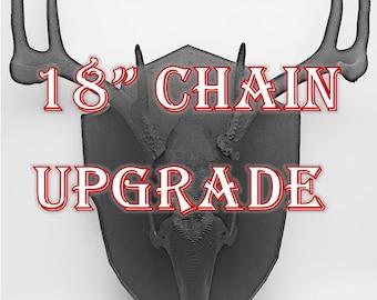"18"" Chain Upgrade"