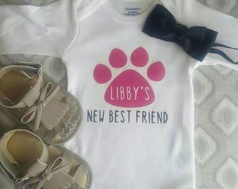 Newborn onesie (customized)