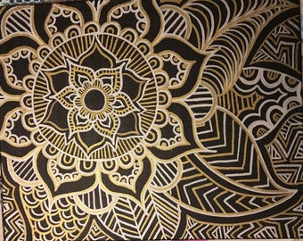 Zentagle - Silver and Gold