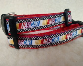 Racing Handmade Dog Collar  5/8 inch Wide
