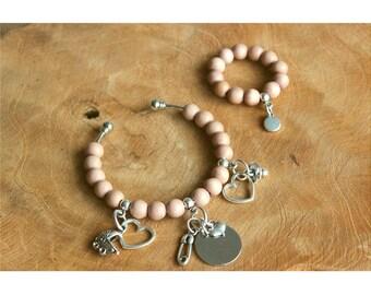 Personal mother Daughter (birth) bracelet!