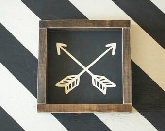 Arrows Mini - Wood Sign