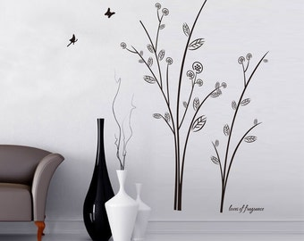 Black Tree Wall Decal - Wall Sticker Decor | PP208