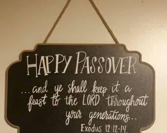 Chalkboard Sign!