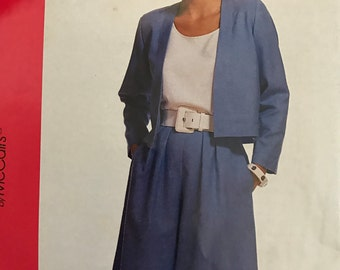 Vintage McCalls' pattern 5844 Size B (10-12-14)
