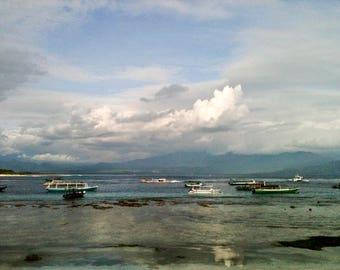 Indosea: Photography Print, Fine Art Photography, Wall Art, Home Decor, Wall Art, Print, Beach Photo, Art Print, Paris Spellson, landscape
