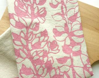 Tea Towel, Lupine, Flour Sack Towel, Kitchen, Tea Towels, All Natural Cotton Towel