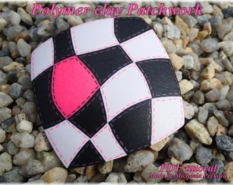 Polymer clay Patchwork tutorial