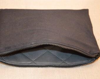 My black pouch