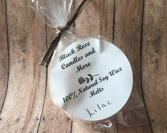 Soy Wax Melts, Wax Tarts (Lilac)