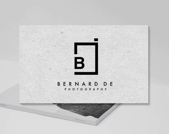 Minimalist Modern Photography Logo. Camera Logo. Photography Logo Design. Photographer. Premade Logo Design. P-01