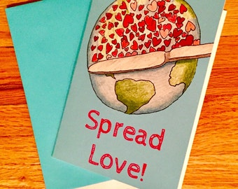 Spread Love! Note Cards