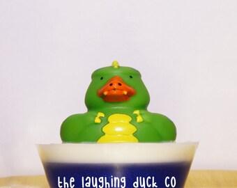 Dinosaur Soap, Rubber Ducky Soap, Bubble Gum, Shea Butter & Glycerin Soap, Rubber Duck, Dino, Lizard, Toddler Gift Idea, Stocking Stuffer
