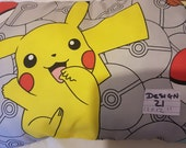 kids pokemon filled novelty  cotton cushion size 16 x 12 inches great gift idea