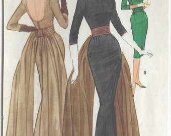 "1960 Vintage Sewing Pattern B36"" DRESS (R422) McCall 5588"