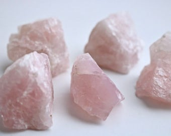 Reiki Charged Rose Quartz Crystal