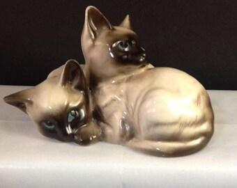 Beswick England Siamese Kittens
