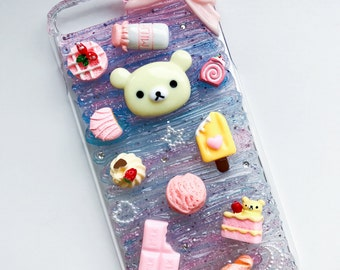 READY TO SHIP Rilakkuma decoden case for iPhone 7 plus