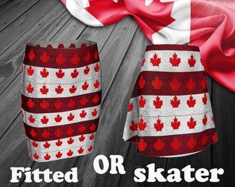 Canada skirt, Canada Day skirt, Oh Canada day, Canadian proud