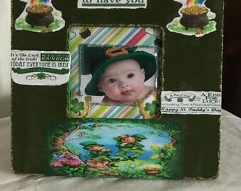 Saint Patrick's Day Decorative Photo Frame
