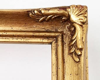 french gold baroque frame french regency hollywood gilt wood frame french provincial decor art frames framing 14x11 wall art 11x14