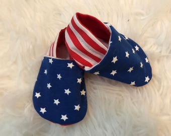 American flag booties- order by the 18th