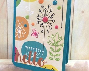 Handmade card (A2)