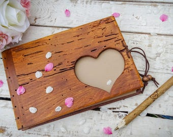 Rustic Wooden Natural Twig Pen Heart His Hers Initials gift wedding unniversary Personalized Wedding Tree Branch Wedding Guestbook Log Pen