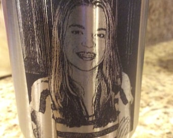 Picture Laser Engraved RTIC Tumbler