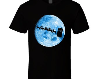 Dr Who I Want To Believe  Christmas T Shirt
