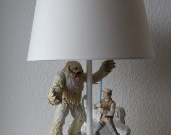 The Wampa Lampa. Star Wars inspired lamp