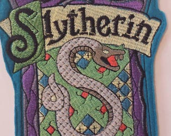 Large Slytherin patch, Harry Potter Patch, Hogwarts Patch