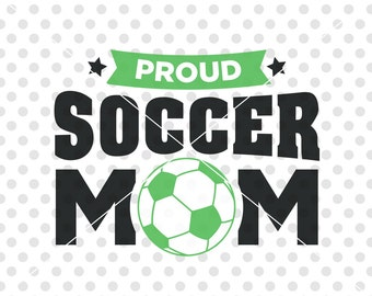 Soccer Mom SVG DXF Cutting File, Soccer Svg Dxf Cutting File, Soccer Clip Art Vector, Sports Svg Dxf Cut File, Soccer Ball Svg Dxf