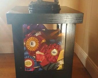 Horse Ribbon Display Box Table