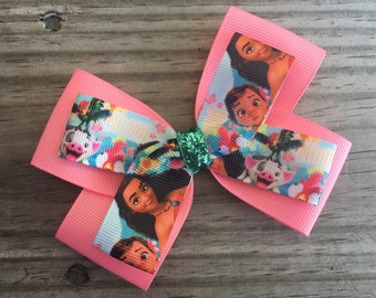 Moana Bow / Moana Hair Bow
