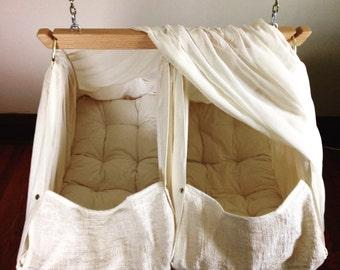 Tandem baby hammock