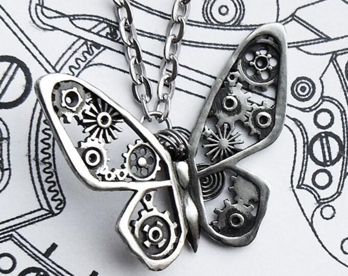 """Pendant """"Steampunk Butterfly"""""""