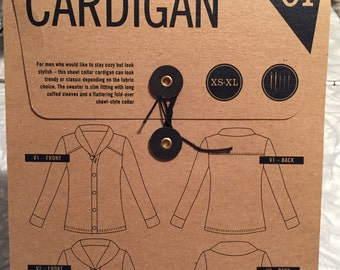 Thread Theory Sewing Pattern. Newcastle Cardigan.