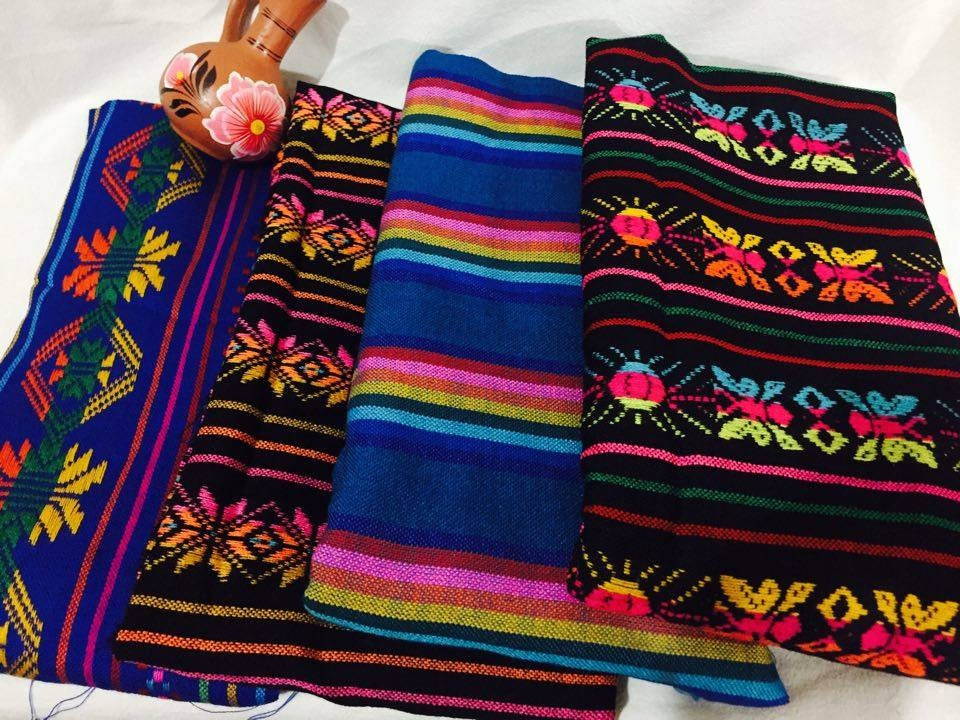 Mexican Paintings Rebozo Mexican Mexican Table Runner