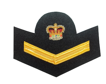 Royal Navy Petty Officer Boy Seaman Badge/Patch - British Army - NEW