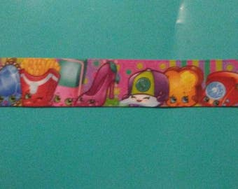 Shopkins one inch grosgrain ribbon