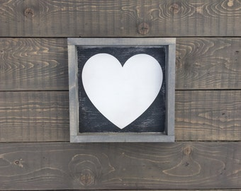 Accent Piece - Heart - Home Decor - Wall Decor - Love - Sign - Gift