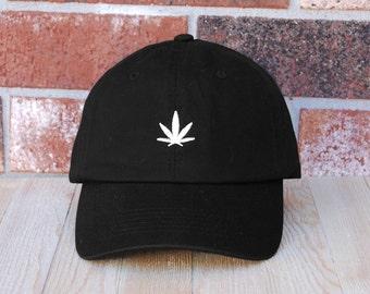 Marijuana  Baseball Cap, Unisex Baseball Cap, Embroidery Baseball Cap,  Marijuana  Baseball Dad Hat, Dad Cap, Dad Hat
