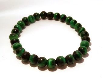 Green Catseye Bracelet