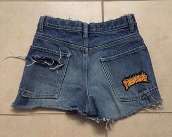 Thrasher Denim Shorts