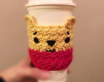 Winnie The Pooh And Friends Amigurumi : Cup cozy pattern Etsy