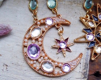My Sun Moon & Stars Earrings